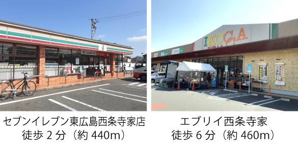 便利な施設が集う【大型商業施設エリア】